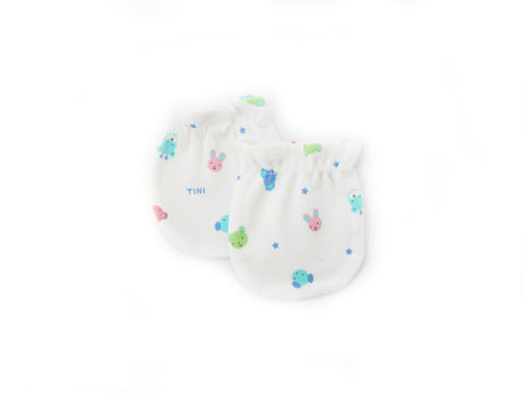 Cute Animal and Star No Scratch Mittens for Newborn Baby Girls and Boys - Bonjour Bear
