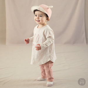Girl's Rain Bunny Long Sleeve Shirt - Happy Prince