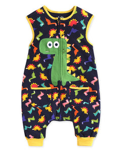 Baby Infant Toddler Dinosaur Buddy Sleepsack - Bonjour Bear 12M to 2T