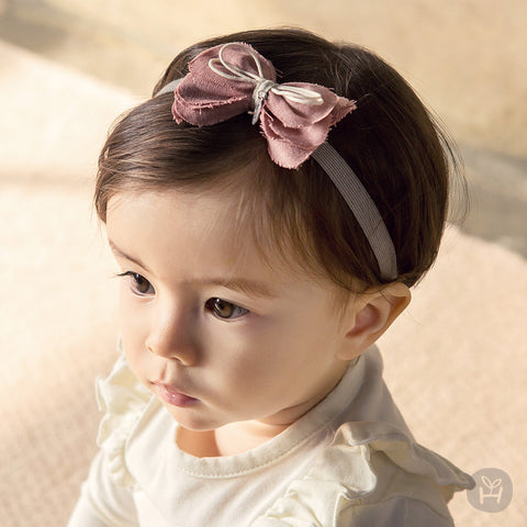 Girl's Drian Pink Ribbon Hairband - Happy Prince