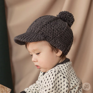 Baby & Toddler Eira Knitting Cap Beret Hat - Happy Prince