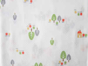 Baby Infant Little Forest Cotton Baby Burp Cloth - Bonjour Bear