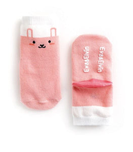 Little Pink Rabbit Socks for Baby and Toddler Girls 0-5T - Bonjour Bear