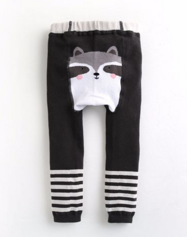 Baby Raccoon Spats Leggings - Bonjour Bear