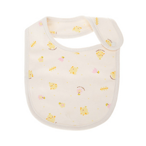 Baby Infant Yellow Chick Newborn Organic Bib - Bonjour Bear
