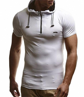 0545 Aleandro Hooded T-shirt