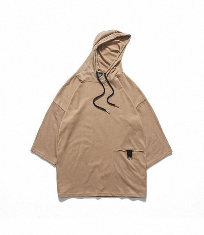 0437 Elio Hooded T-shirt