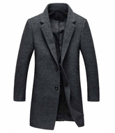 0472 Modern Gentleman Business Coat