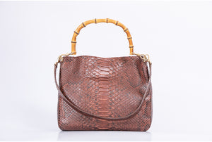Bamboo Tote Python
