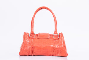 Ring tote Crocodile