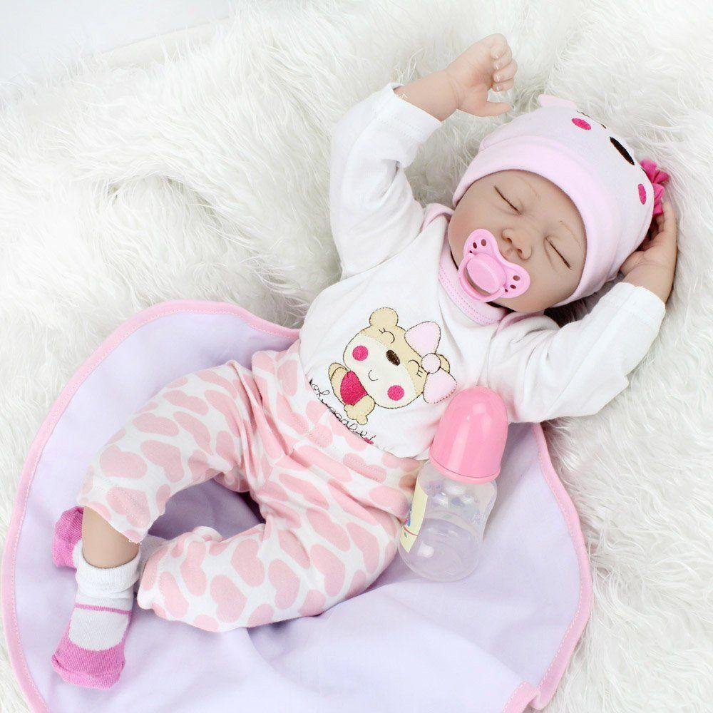 Newborn Baby Dolls That Look And Feel Real 22 Inch Baby