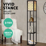 Artiss Floor Lamp Vintage Wood
