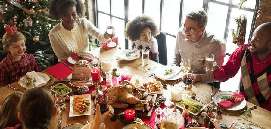 family holiday meal natural supplements