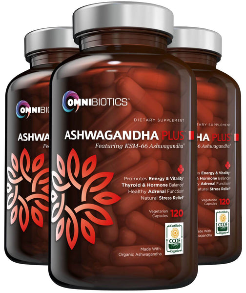 Organic Ashwagandha 3 Bottle Bundle