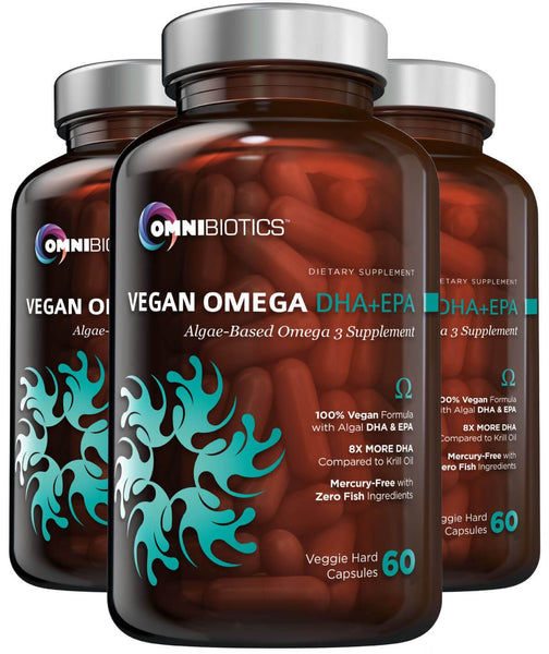 Vegan Omega DHA + EPA 3 Bottle Bundle