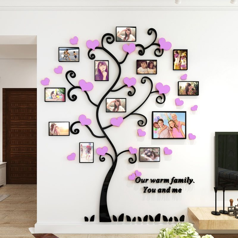 Love tree 3D wall sticker