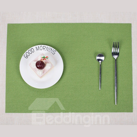 Set de table Européen Rectangle Isolant en PVC