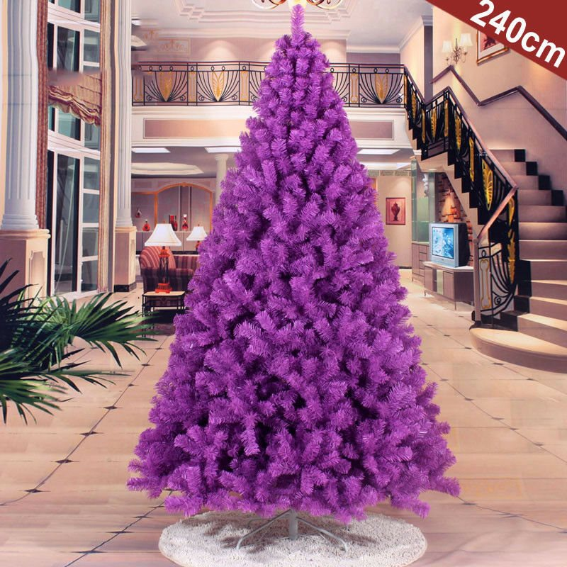 Christmas tree purple 2 3 4 5 6 7 8 FT Purple Christmas Artificial Tree Undecorated Festival Holiday