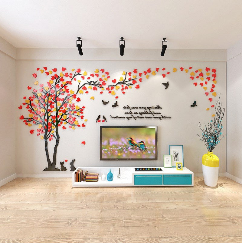 Acrylic 3D wall sticker