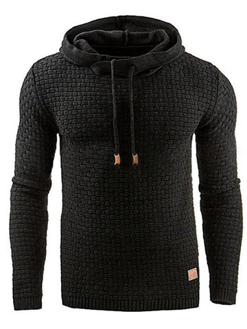 Sweat-shirt Homme Epais Pull-Over Pure Pull Slim