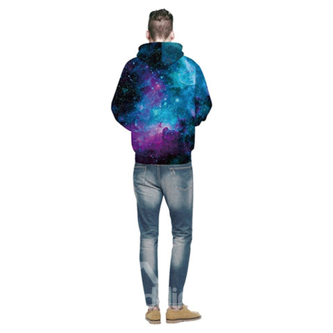 Galaxie Sweat-shirt A Capuche Confortable et Unique en Rêve 3D Unisexe