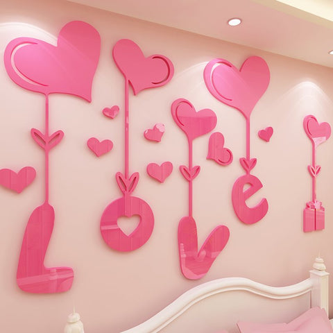 3D wall stickers Mural Autocollant Mural pour Enfants Chambre Salon Decoration