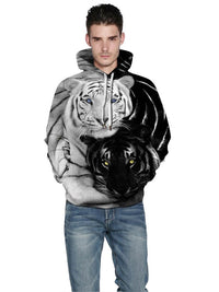 Sweat-shirt Homme 3D Pull-Over Col Rond Pull
