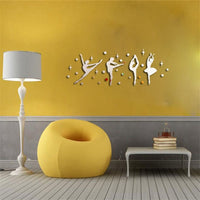 Wall Stickers Autocollants Muraux Amovibles 3D en Acrylique