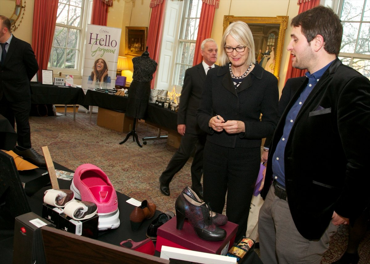 A Shoe Shop in Downing Street