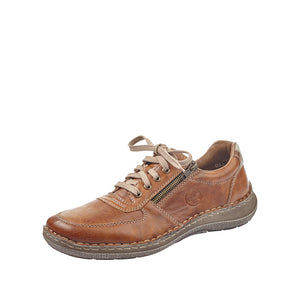 Rieker 03030-25 Mens Brown Casual Lace Up Shoes