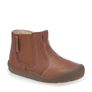 Start-Rite First Chelsea 0750_0 Unisex Tan Leather Chelsea Boot