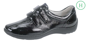 Waldlaufer 496301 Henni Black Patent Leather Shoes - elevate your sole