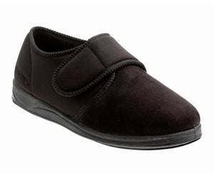 Padders Charles Brown Microsuede Mens Slippers - elevate your sole