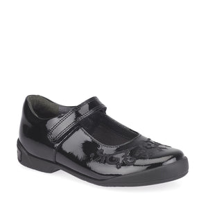 Start-Rite Hopscotch 2788-3 Black Patent Girls Leather Mary Jane Shoe - elevate your sole