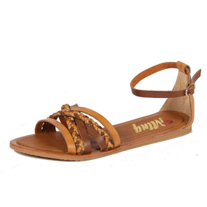 MNTG Vache Natural Braided Sandals - elevate your sole