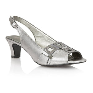 Lotus Zabry Light Pewter Leather Sandals - elevate your sole