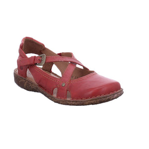 Josef Seibel Rosalie 13 Ladies Hibiscus Red Closed Toe Leather Sandal