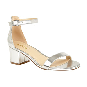 Lotus Vitus Sandals Open Toe Metallic Silver Sandals - elevate your sole