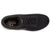 Skechers 124029 Go Walk 5 Wild Ladies Black Gold Lace Up Trainers