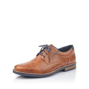 Rieker 13500-25 Mens Peanut Brown Lace Up Shoes