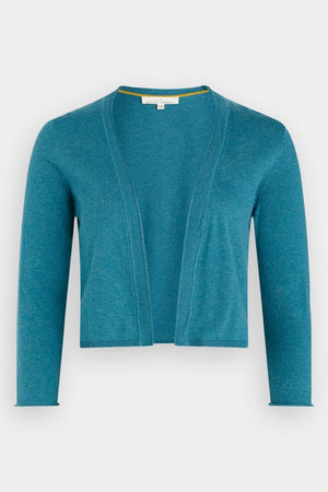 Seasalt Vanessa Ladies Cotton Cardigan in Swell Light Blue
