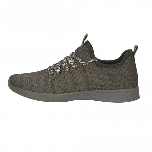Dude Levante Army Active Stretch Lace Up Trainers