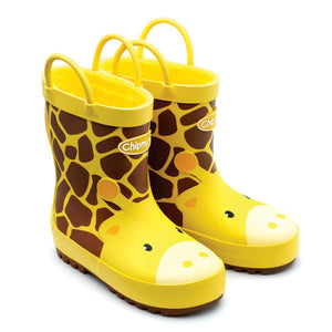 Chipmunk Gabe Yellow Giraffe Wellies