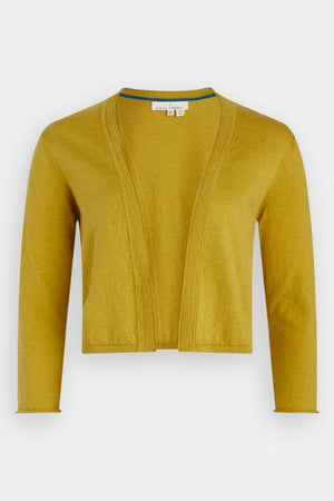 Seasalt Vanessa Ladies Cotton Cardigan in Dune Yellow