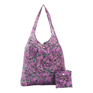Eco Chic A31 Dragonfly Purple Recycled Plastic Shopper
