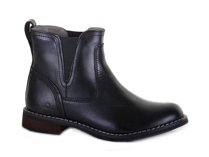 Chatham Quinn Black Leather Chelsea Boots - elevate your sole