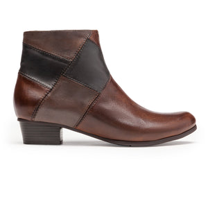 Regarde Le Ciel Stefany 276 3756 Glove Noce Muddy Piombo Leather Ankle Boots