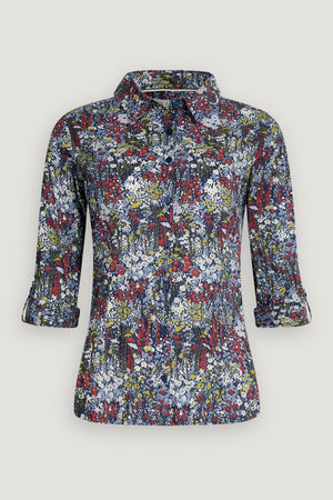 Seasalt Larissa Shirt Ladies Painterly Planting Mix