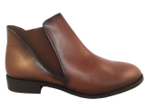 Frank Ladies 1500 Cognac Leather Chelsea Boots - elevate your sole
