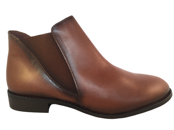 Frank Ladies 1500 Cognac Leather Chelsea Boots